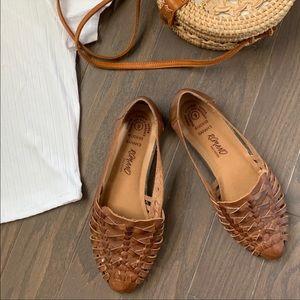 Vintage Romano Ridolfi leather sandal flats 9.5